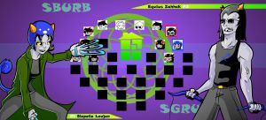 Homestuck The Game Nepeta VS Equius by Video320