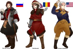APH-Random History People 2 by partee6554