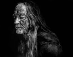 Willie Nelson by ericfoo