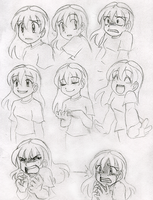 A Look at Anime Expressions by SonicRocksMySocks