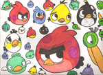 SO MANY BIRDS D: by plushietoon