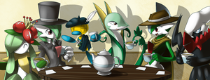 Fancy 'Mon Tea Party by ShadowScarKnight