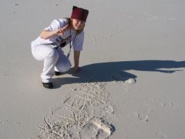 KDE in the Sand by KDElive
