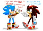 Sonic and Shadow's Paint Job by DTrain2695