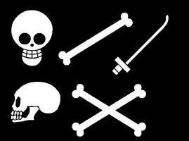 One Piece Jolly Roger Bases by kookoo4coacoapuffs93