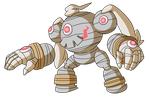Pokemon Fusion Donation Prize: Clockwerk 4 by MTC-Studio