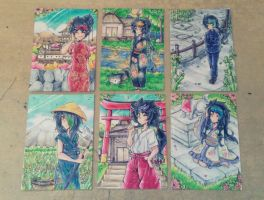 [ACEO] Asia Outfit Set by Nadi-Chan