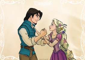 Tangled - Dance by vampirexutes