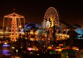 California Adventure at Night by MogieG123