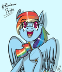 #Rainbow Pride by Giumbreon4ever