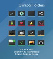 Clinical Folders by deelo