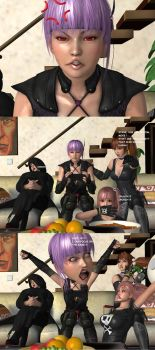 Request: Ayane playing Games by Dante-564