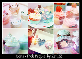 Icons Pack Cakes by ZenitZ