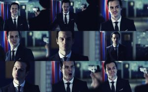 Moriarty in 'The Great Game' by ripyourfaceoff