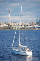 Space Needle by LordXar