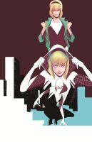 Gwen Stacy - Spider Woman by ANSEM3