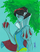 Warm Up 1, 12-29-2013 Snow White by Hodges-Art
