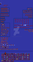 Inferno Sprite Sheet (almost done..i guess) by FlamingInfernoX