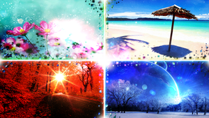 4 Seasons (Wallpaper and Edit) by Hardii