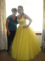 My 'Belle' Prom Dress by TheWayIDancedWithYou