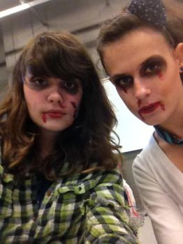 Zombie make up by Shuhari1