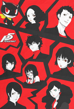 Persona 5: Poster by TotalRewire