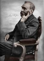 Alfred Bernhard Nobel by Linnea-Rose
