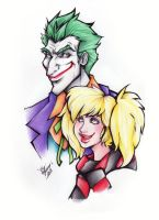 Joker and Harley by Jenovita