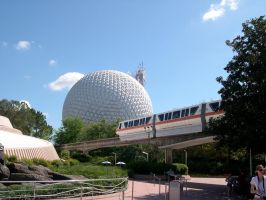 Epcot Spaceship Earth Stock 21 by AreteStock