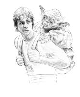 Yoda's Trains Luke by jasonpal