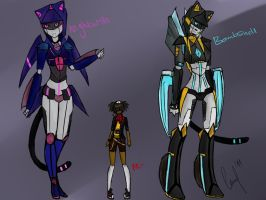 TFP: Nightwish and Bombshell by Kookai-Senpai