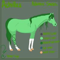 Achillea Adameic Reference Sheet by KinninKiago
