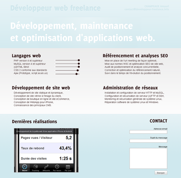 WebDesign - Developpeur web by OlaMarion