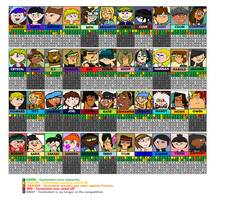 Total Drama Battlegrounds by bad-asp