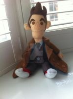 10th Doctor Plushie 1 by phooanimates