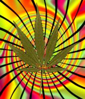 Marijuana Leaf-REQUEST by Holly6669666