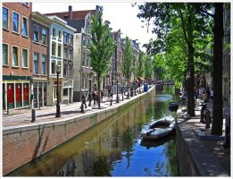 Streets of Amsterdam V by Andrei-Joldos