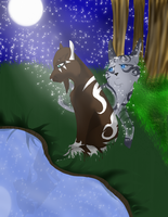 CE: Riverspirit456- Reflection (Speedpaint) by LadyLirriea