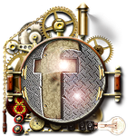 Steampunk Facebook Cogs Icon by yereverluvinuncleber