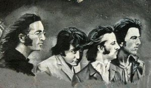 Close-up on the Beatles by electrictomato