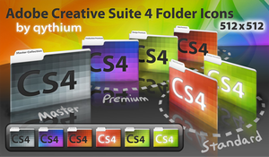 CS4 folder icons -- Leopard by qythium