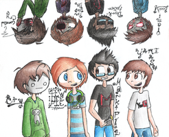 Creepytubers by InsanelyADD