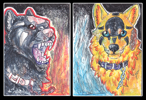 ACEO Trade -- Awaicu by lunagriff