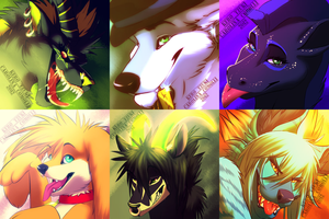 Icon commissions (Furaffinity) by KeroTzuki94