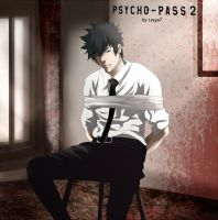 Psycho-pass 2: Kogami Shinya by Lesya7