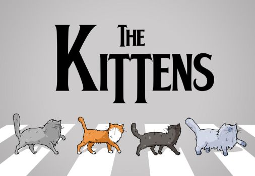 The Kittens by PattesDeVeloursAndCo