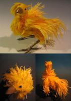 Chococloud the chocobo by dracontia
