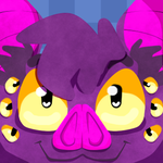 Face Icon: Spider Bat by KingGigabyte