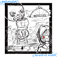 Paranoia - No Time for Sleep by NorthApple