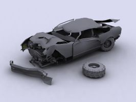 Super Car- Wreck by todd587